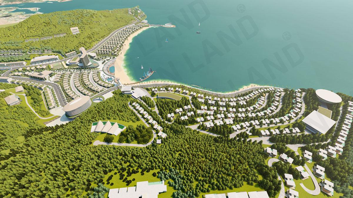 Mặt Bằng Thiết kế Dự án Meyresort Bai Lu Nghệ An của Tập đoàn Tân Á Đại Thành